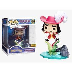 Funko Pop Disney Treasures Villains Box Hook and Tick Tock Funko Figures, Vinyl Figures, Action Figures, Disney Pop, Captain Jack Sparrow, Funko Pop Marvel, Wum Und Wendelin, Kleiner Donner, Kawaii