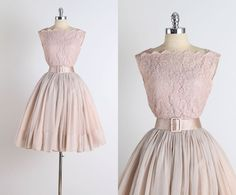 Truly Madly . vintage 1950s dress . vintage by millstreetvintage