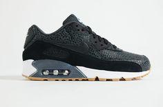 big sale e047e 36d7f Nike - Air Max 90 Premium Women (Black  Black Black White) Air Max