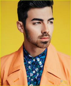 Joe Jonas on the newest cover for Scene magazine.