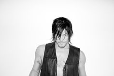 Norman Reedus. Photo by Terry Richardson