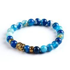 Onyx Buddha Bracelet #OnyxBeads