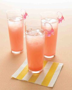 Try this Pink Elephant Signature Cocktail Recipe from Martha Stewart for a sweet Valentine's Day treat.