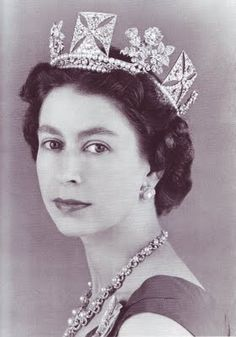 """The Queen inherited the diadem in 1952 on the death of her father. Because the Queen wears the diadem to and from the State Opening of Parliament each year, and is pictured with it on all United Kingdom postage stamps, the diadem is seen by more millions of people than any other item of royal jewellery."""