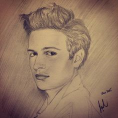 Ansel elgort | Drawing...