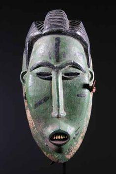 Le masque africain Gouro une grande diversite de formes en Afrique