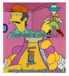 °Boku no memes academia Simpsons Meme, The Simpsons, Mendes Army, Spanish Memes, Meme Faces, Reaction Pictures, Dance Moms, Derp, Funny Images