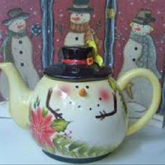 Paint a Teapot for the Holidays