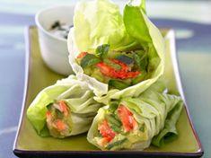 Découvrez la recette Bouchées de laitue au crabe sur cuisineactuelle.fr.
