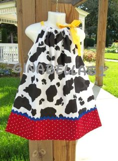 Cowgirl Dress Birthday Party Barnyard Girl Costume 12 18 M 2T 3T 4T 5T 6 Toddler | eBay