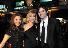 Nasim Pedrad, Kristen Wiig, Bill Hader