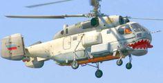 Russian Black Sea Fleet Kamov Ka-27PS Helix-D Helicopter Free Aircraft Paper…