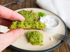 I love the vibrant green colour of these. They are gluten-free, healthy, high in protein and very easy to make. Perfect for a snack or as a side when you're having a soup.