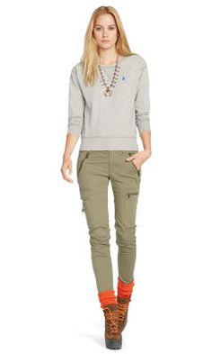 Fleece Crewneck Pullover - Polo Ralph Lauren Long-Sleeve - RalphLauren.com