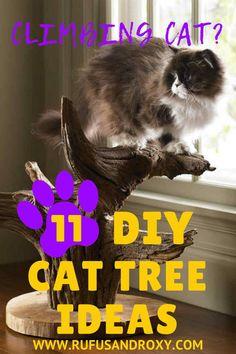 11 DIY Cat Tree Idea