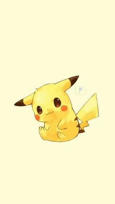 Cute Pokemon Wallpaper, Cute Disney Wallpaper, Cute Cartoon Wallpapers, Cute Animal Drawings, Kawaii Drawings, Cute Drawings, Pokemon Manga, Pikachu Pikachu, Pikachu Drawing