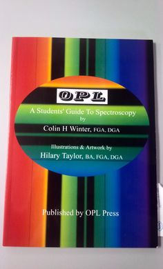 A hot favourite among gemology students - A student's guide to Spectroscopy. http://fareastgem.institute