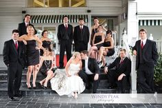 awesome wedding party! http://www.windypeakphotography.com/blog