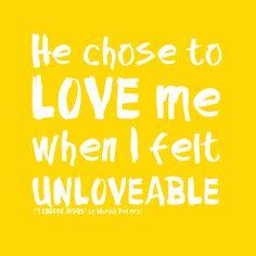 i choose Jesus. Moriah Peters.