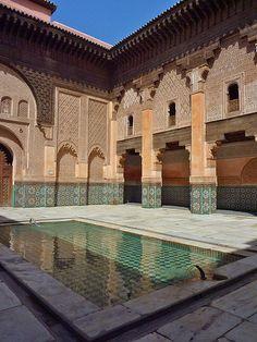 Medersa Ben Youssef. Marrakech.