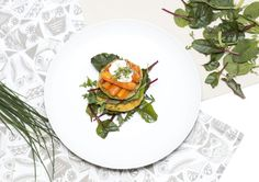 potato and smoked trout patties Potato Patties, Smoked Trout, Formal Dinner, Freshwater Fish, Alps, Decorative Plates, Potatoes, Dishes, Cooking