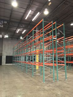 Newly installed warehouse storage system – FlexRack® pallet rack from Next Level. Pop Up, Warehouse, Pallet, Windows, Display, Store, Floor Space, Shed Base, Billboard