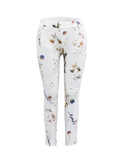 Pull on slim leg crop pant 26 inseam Stretch stretch techno fabric Made in Canada Liberty Floral by Tyler Madison. Skin Tight, Slim Legs, Skinny Pants, Cropped Pants, Leggings Are Not Pants, Tights, Pajama Pants, Sweatpants, Madison Clothing