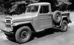 1947–1965: Willys-Overland Jeep 4x4 Truck A Visual History of Jeep Pickup Trucks: The Lineage Is Longer than You Think – Feature – Car and Driver