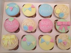 Baby Shower Cupcakes - cute