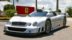 Mercedes Benz CLK GTR, a rare beauty, only 25 ever made!
