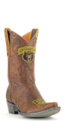 Womens Baylor boots #allensboots #cowboyboots #gamedayboots #Baylor