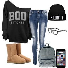 """Chill ..( in school)"" by nicola-gabcova on Polyvore"