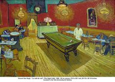 "Vincent Van Gogh - ""Le café de nuit"", (The Night Café), 1888 