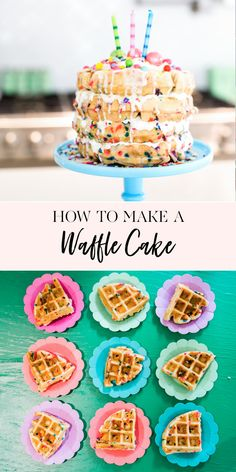 Homemade waffles are a breakfast favorite in our house. We invested in a waffle iron quite a few years ago and it never ceases to excite my kids when they smell fresh waffles cooking on Waffle Recipes, Easy Cake Recipes, Cookie Recipes, Icing Recipes, Pudding Recipes, Sausage Recipes, Cream Recipes, Köstliche Desserts, Delicious Desserts