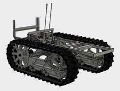 Caterpillar Twenty Two Replica Mini Dozer Build: Mini Dozer Build Guide With Complete Track Frame Rail Plans