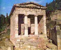 The Asklepion...small area dedicated to Asklipios, a son of Apollo - Greece.  Go to www.YourTravelVideos.com or just click on photo for home videos and much more on sites like this.