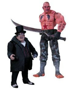 DC Collectibles Batman Arkham City Sickle and Penguin Action Figure 2Pack ** You can find more details by visiting the image link.