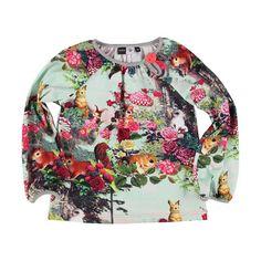 Bestel online Molo t-shirt dieren en bloemen 'Ruby Down To The Woods' bij Wijsneus