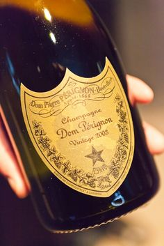 Dom Perignon Champagne ~ Remember this? ~ Can't travel with this but fancy hotels have it. Or other good brands.