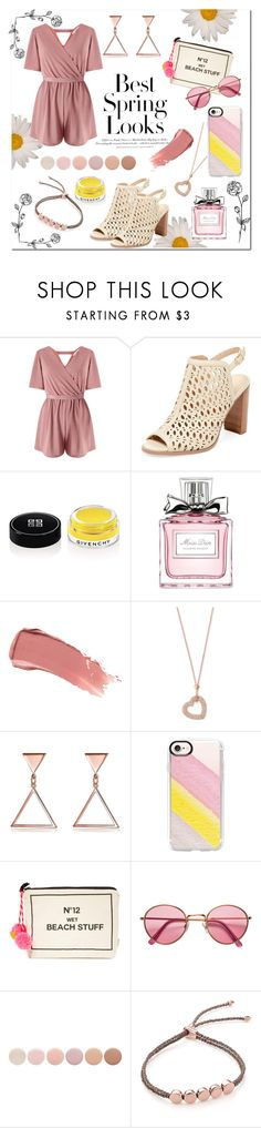 """""""Spring Look"""" by jetxblackxa ❤ liked on Polyvore featuring H&M, Miss Selfridge, Renvy, Givenchy, Christian Dior, Smith & Cult, Michael Kors, Casetify, Bag-All and Deborah Lippmann"""