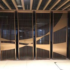 Stainless steel control screen We create decorative architectural fabrications . Stainless steel c Partition Screen, Partition Design, Decorative Metal Screen, Decorative Panels, Small Restaurant Design, Laser Cut Panels, Laser Cut Metal, Laser Cutting, Stainless Steel Screen