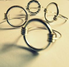 diy wire jewelry tutorials | DIY | WIRE + RING (wobisobi) excellent tutorial | Jewelry to Make