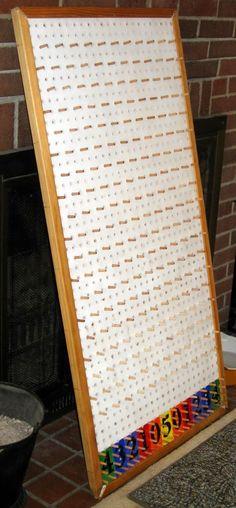 How I made my Plinko Board: Homemade Plinko Board for Carnival (relay games student) School Carnival, Carnival Themes, Carnival Birthday, Birthday Party Games, Diy Carnival, Spy Party, Plinko Board, Plinko Game, Spring Carnival