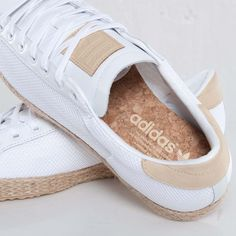 United Arrows x Adidas Original Rod Laver Vin Espadrille