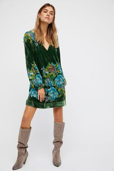 Shop our Misha Burnout Velvet Mini Dress at Free People.com. Share style pics with FP Me, and read & post reviews. Free shipping worldwide - see site for details.
