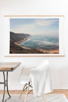 Catherine McDonald California Coast Art Print And Hanger | DENY Designs Home Accessories