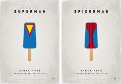 Polos de Superhéroes