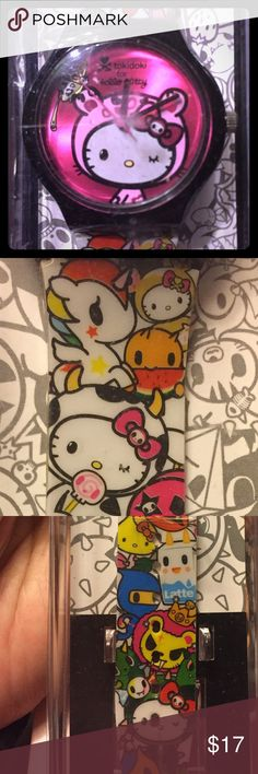 33231d1e2e3d NWT Tokidoki x Hello Kitty watch 5 designs Brand new in case watch Bundle  discount only