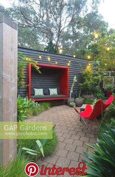 garden seating 10 Best Balcony Garden Designs and Ideas for 2019 Balcony garden ideas and balcony garden design tips In this article, you wil… Backyard Seating, Outdoor Seating Areas, Garden Seating, Backyard Landscaping, Gazebos, Wall Seating, Patio Lighting, Lighting Ideas, Outdoor Living
