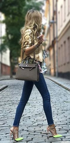 #winter #outfits brown jacket